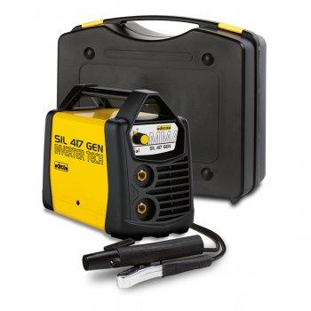 Saldatrice A Elettrodo Inverter Deca Sil 417 Gen 170amp, 230v, Kit Utilizzo