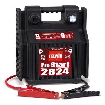 Avviatore Portatile A Batteria Telwin Pro Start 2824 12-24v