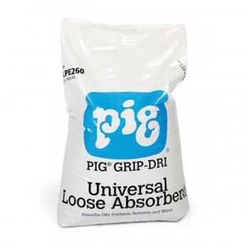 Polvere Assorbente Universale Pig Grip-dri New Pig, Sacchi 15kg