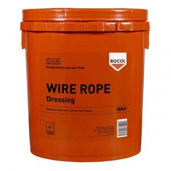 Lubrificante Speciale Per Funi Metalliche Wire Rope Dressing Rocol 18kg