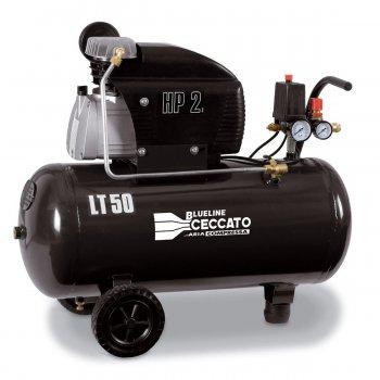 Compressore Aria Carrellato Ceccato Blueline 50dc2 10bar 2hp 50lt