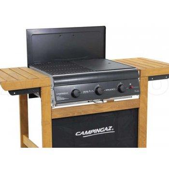 Campingaz Barbecue A Gas Adelaide 3 Woody Dual Gas 3 Bruciatori Potenza 14kw
