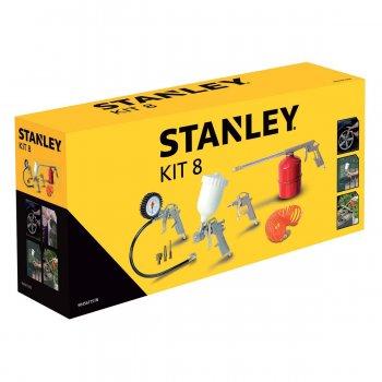 Kit 8 Utensili Pneumatici Per Compressore Aria Stanley - 9045671stn
