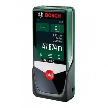 Distanziometro Laser Digitale Portatile Bosch Plr 50 C
