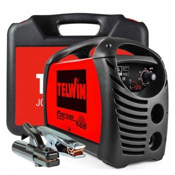 Saldatrice Inverter A Elettrodo Mma Telwin Force 145 230v Acx Con Valigetta
