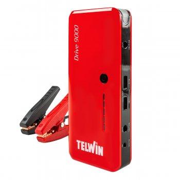 Avviatore Portatile Ultracompatto Multifunzione Telwin Drive9000 12v