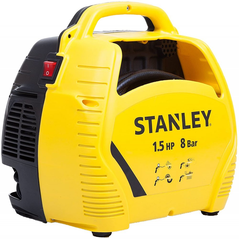 COMPRESSORE AIR KIT STANLEY C/ACCESSORI 1.5HP 8BAR