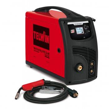 Saldatrice Inverter A Filo Multiprocesso Telwin Technomig 215 Dual Synergic 230v