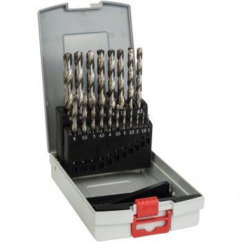 Kit Di Punte Per Metallo Bosch Hss-g 19pz 1-10mm In Valigetta