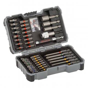 Kit Inserti Di Avvitamento Accessori Trapani Avvitatori Bosch X-pro 43pz