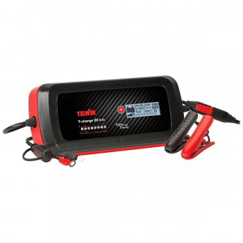 Caricabatterie Elettronico Portatile Telwin T-charge 20 Evo 12/24v - 807596