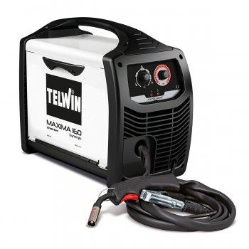Saldatrice Inverter A Filo Mig-mag/flux/brazing Telwin Maxima 160 Synergic 230v