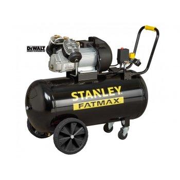 Compressore Aria Carrellato Stanley Fatmax Dv2 400/10/100 3 Hp 100l