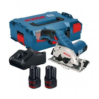 Sega Circolare A Batteria Bosch Gks 12v-26, 12v/3ah Diametro 85mm