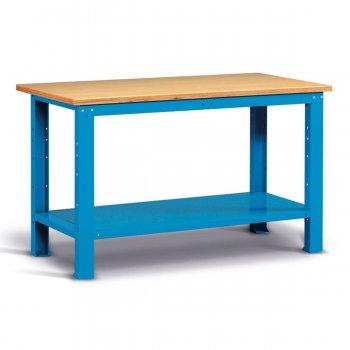 Banco Da Lavoro Con Piano In Multiplex Fami Ideaone 150cm Blu
