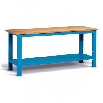 Banco Da Lavoro Con Piano In Multiplex Fami Ideaone 200cm Blu