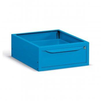 Cassettiera Un Cassetto Per Banchi E Carrelli Fami Ideaone Blu