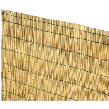 Arella Cina 1.5x3 Confezionata Con Sottili Cannette Di Bamboo Pelato Verdelook