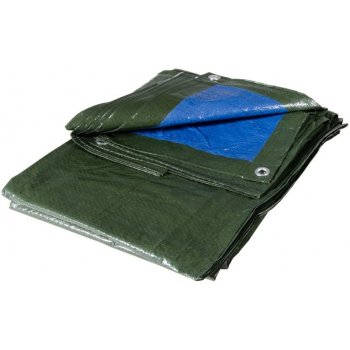 Telo Occhiellato Multiuso In Polietilene 6x10m 100 Gr/mq Blu/verde Verdelook