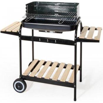 Barbecue Con Carrello Due Ripiani In Acciaio Verdelook