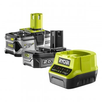 Kit Batterie E Caricabatteria Ryobi One+ Rc18120-242