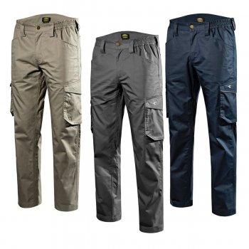 Pantalone Da Lavoro Diadora Utility Pant Staff Light Cargo Cotton