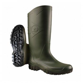 Stivali Da Lavoro In Gomma Dunlop Dane Verde/nero K680011